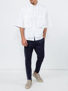 Oamc - Mesh Detail Boxy Shirt - Men