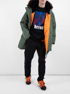 Heron Preston - Heron Bird Print Shirt Black - Men