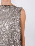 Halpern - Sequinned Asymmetric Sleeveless Dress - Women
