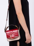 Chloé - Mini C Bag Pink And Red - Women