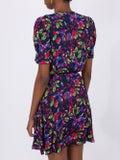 Saloni - Lea Wrap Mini Dress - Women