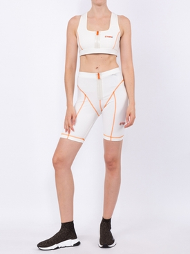 high-waisted cycling shorts