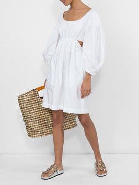 Isa Arfen - Side Cut-out Dress - Long-sleeve