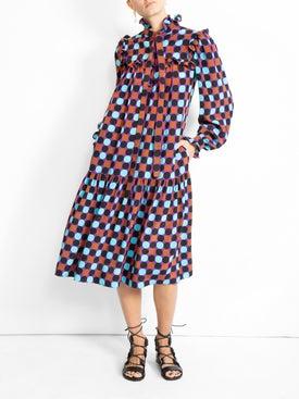 Valentino - Multicolor Dots Dress - Women