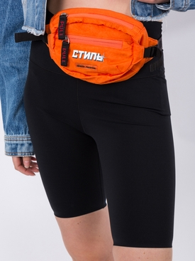 Logo Print Mini Belt Bag ORANGE