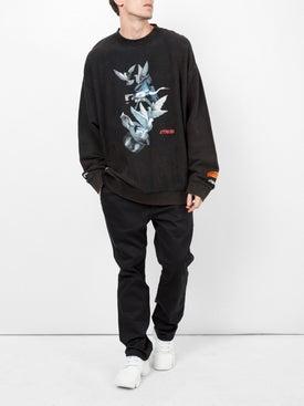 Heron Preston - Heron Dove Printed Sweatshirt - Men