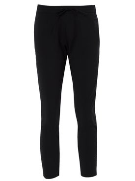 Wone - Black Tech Drawstring Pants - Women