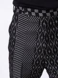 Haider Ackermann - Cropped Jacquard Trousers - Men