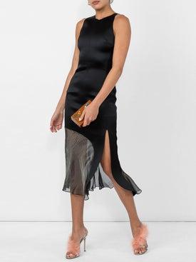 Esteban Cortazar - Contrast Halter Dress - Women