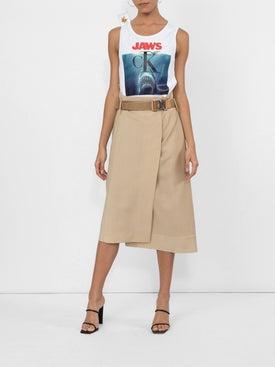 Fendi - High Waisted Asymmetric Skirt - Women