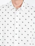 Saint Laurent - Palm Tree Print Shirt - Men