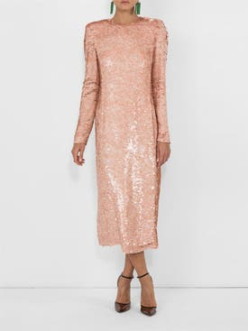 Givenchy - Sequined Midi Dress - Women