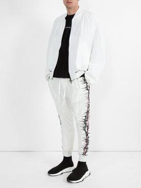 Haider Ackermann - Embroidered Silk Bomber - Men