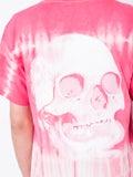 Nasaseasons - Pink Tie-dye Print T-shirt - Men