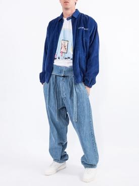 Blue Harrington jacket