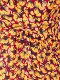 Saloni - Multicolored Silk Draped Midi Dress - Women