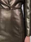 Alexachung - Dark Gold Metallic Mini Skirt - Skirts