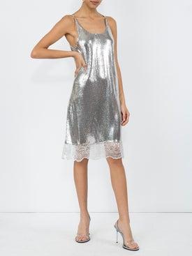 Paco Rabanne - Lace Hem Dress - Women