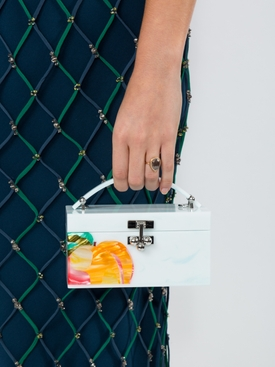 Peachy trunk bag