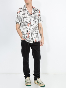 Off-White X The Webster Exclusive Floral Pajama shirt WHITE