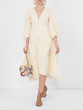 Proenza Schouler - Rose Imprint Long Sleeve Dress - Women