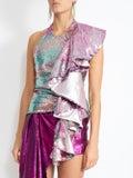 Halpern - Sequinned Top Multicolor - Women