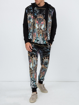 Psychedelic print sweats