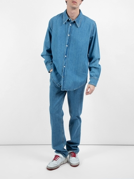 Jaws denim shirt BLUE