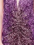 Halpern - Purple Sequined Dress - Women