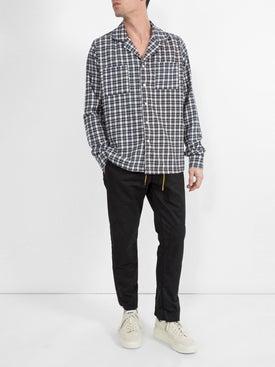 Rhude - Checked Pajama Shirt - Men