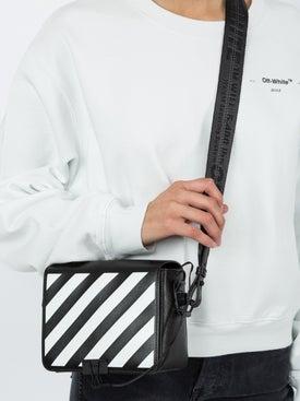 Off-white - Diagonal Print Shoulder Bag - Women