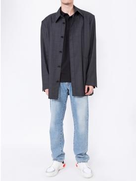 Tailored boxy shirt