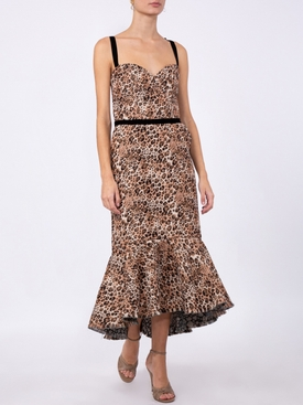 LOVE BETWEEN SPECIES MIDI DRESS