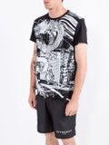 Balmain - Black And White Dragon Print T-shirt - Men