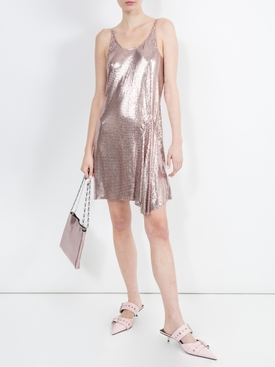Paco Rabanne x The Webster Chainmail Dress PINK