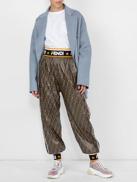 Fendi - Logo Print Track Pants - Women