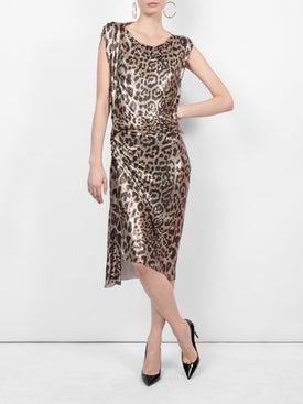 Paco Rabanne - Metallic Leopard Pattern Dress - Women