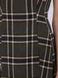Alexachung - Green Check Print Mini Dress - Women