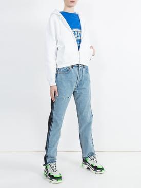 I Love Techno Zipper hoodie