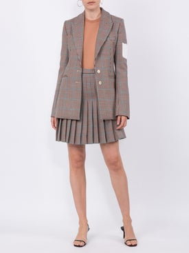 Off-white - Contrast-patch Tweed Blazer - Women