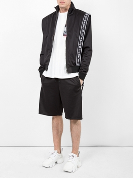 Logo jacket BLACK