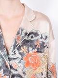 Valentino - Japanese Tattoo Print Pajama Shirt - Women