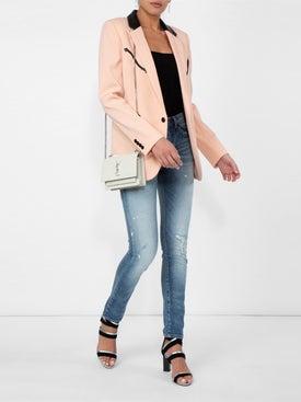 Saint Laurent - Distressed Skinny Jeans - Women