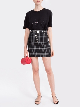 constellation logo print T-shirt