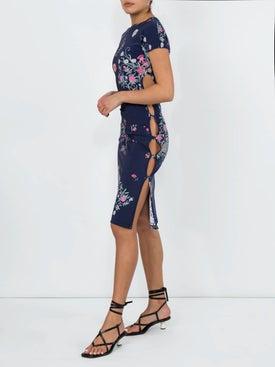 Marcia - Floral Tchikiboum Dress - Women