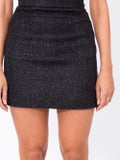 Amiri - Glitter Tweed Skirt - Women