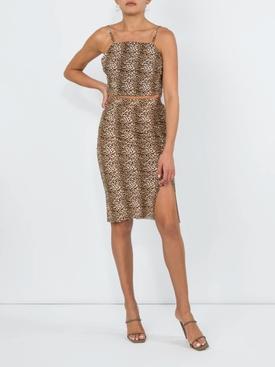 Leopard Romantica Skirt MULTICOLOR