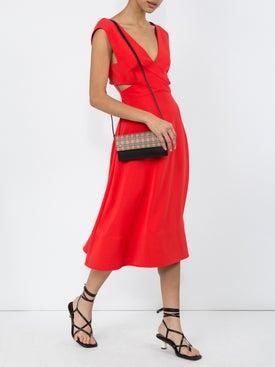 Proenza Schouler - Crepe Cutout Dress Orange - Women