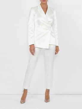 Sies Marjan - Slim Fit Satin Trousers - Women