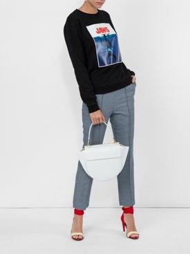 Calvin Klein 205w39nyc - Jaws Logo Cotton Sweatshirt - Sweatshirts
